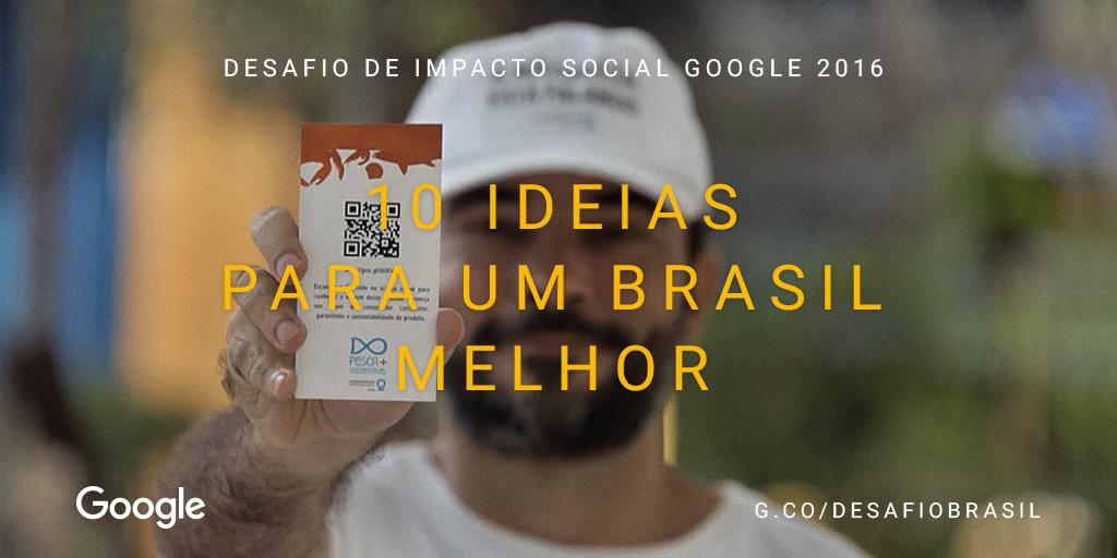 Desafio de Impacto Social Google 2016